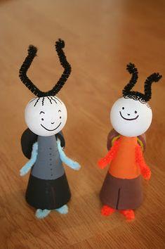 Kifli és levendula: A Bogyó és Babóca projekt Craft Gifts, Dolls, Christmas Ornaments, Holiday Decor, Crafts, Ideas, Health And Nutrition, Amigurumi, Felting