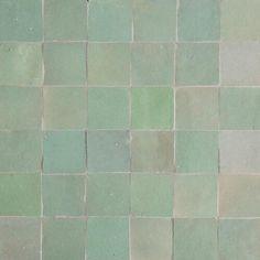 Buy online Mint Green Moroccan Tiles for kitchen, bathroom, shower, swimming pool. Moroccan Tiles Kitchen, Kitchen Tiles, Moroccan Bathroom, Kitchen Cabinets, Aesthetic Header, Terracotta Floor, Glazed Tiles, Decoration, Mint Green