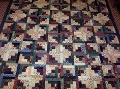 Image result for king size log cabin quilt patterns and images