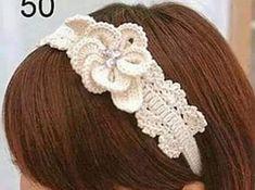 Patrón #1400: Cintillo a Crochet  #ctejidas http://blgs.co/r66hVN