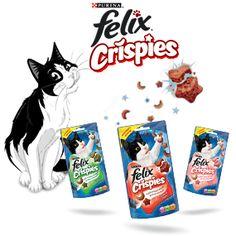 Win a Felix Crispies Cat Treat