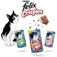 Win a Felix Crispies Cat Treat