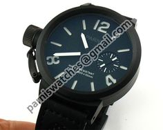 PARNIS 50mm Big Face Pvd White Number Swan Neck 64 - Hand Winding - Parnis watch station