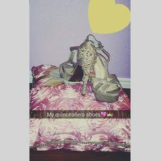 My quinceañera shoes