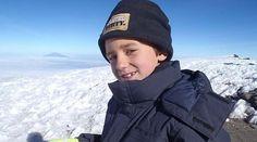 Un niño de 9 años corona el Aconcagua