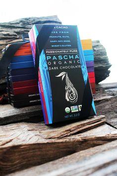 PASCHA Organic Dark Chocolate--SOY FREE, GLUTEN FREE, DAIRY FREE, WHEAT FREE - A Wonderful Gift!