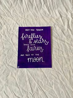 Excited to share this item from my #etsy shop: Inspirational quote sign, summer decor, may you touch fireflies and stars, dance with fairies, and talk to the moon, inspirational decor Cat Quotes, Sign Quotes, Kitchen Humor, Fireflies, Inspirational Wall Art, Mom Birthday, Funny Gifts, Fairies, Letter Board