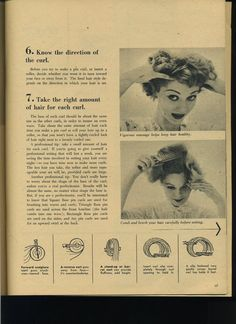 Types of pin curls                                                       …