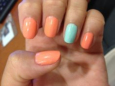 Essie summer nails