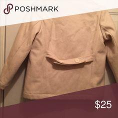 Gap peacoat Girls, size 7-8, cream colored peacoat. Slight piling, but still in good shape. GAP Jackets & Coats Pea Coats