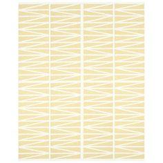 Helmi Gulvteppe, Light Yellow 150x200 cm - Brita Sweden - Brita Sweden - RoyalDesign.no