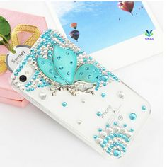 beautiful butterfly mobile case phone case for iphone 4