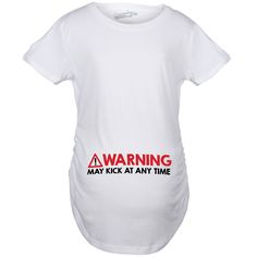 49aa4c45dc0ca Search results for: 'kick at any time maternity shirt'. Funny Pregnancy  ShirtsPregnancy GiftsCute Baby ...