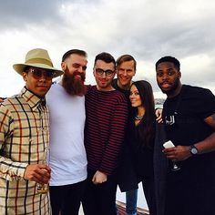 """Family on a boat"" - Sam Smith and crew in Australia"