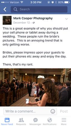 Consider telling people to keep their phones off and away during the ceremony. Cute Wedding Ideas, Wedding Goals, Wedding Tips, Perfect Wedding, Wedding Engagement, Fall Wedding, Our Wedding, Wedding Planning, Dream Wedding