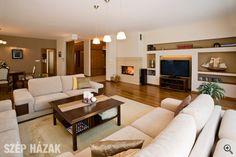 Összehangolt tervezés - Szép Házak House Design, Couch, Furniture, Beautiful, Rooms, Home Decor, Bedrooms, Settee, Decoration Home