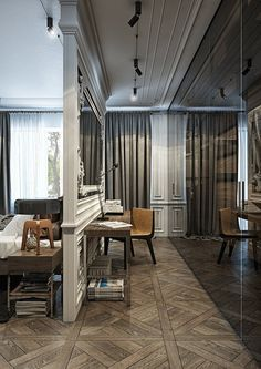 Apartment of a young sophistiate, Kiev, 2015 - YØ DEZEEN