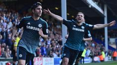 Premier League - Fabregas late winner takes Chelsea one step closer to the title