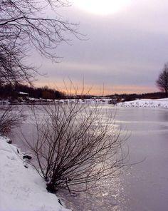 Lake Elkhorn Winter, Columbia, MD