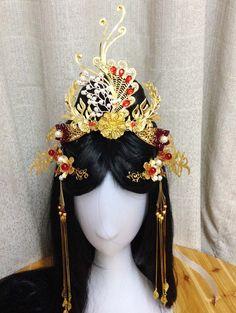 Chinese Empress Phoenix Hair Accessories Comb Fascinators Headbands Bridal Headpieces