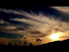 달 석양 구름 moon sunset cloud