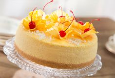 Discover recipes, home ideas, style inspiration and other ideas to try. Pina Colada Cheesecake Recipe, Cheesecake Recipes, Dessert Recipes, Cheesecakes, Kahlua Chocolate Cake, Funnel Cake Bites, Batch Cocktail Recipe, Mousse, Tropical Desserts