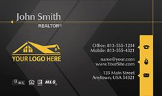 Realty Business Card Templates | Designed for Real Estate Agents