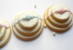Wedding Cake Cookies | Wedding cakes cookies 3D :-) — Cookies!