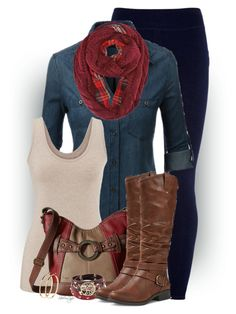 Untitled #2643 by sherri-leger on Polyvore featuring polyvore, fashion, style, maurices, Sundry, Mountain Sole, b.o.c. Børn Concept, Valentino, Pieces and clothing