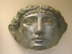 Face Mask of the Ribchester / Newstead Type, late 1st century, British Museum