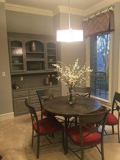 Breakfast room remodel