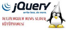 Web sitenizde içeriklerinizi kaydırma seçenekleri ile kullanmanızı sağlayacak bir JQuery Kütüphanesidir.