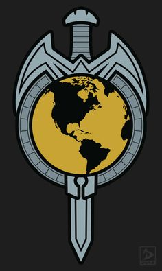 The symbol of the Terran Empire from the Star Trek: TNG - Mirror Broken comic series. Star Trek Symbol, Star Trek Logo, Star Wars, Star Trek Animated Series, Star Trek Insignia, Empire Wallpaper, Mirror Universe, Star Trek Uniforms, The Journey