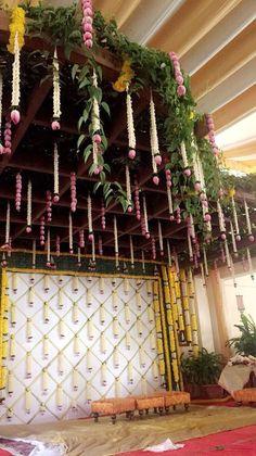 Engagement mandap be Marriage Decoration, Wedding Stage Decorations, Engagement Decorations, Backdrop Decorations, Diwali Decorations, Flower Decorations, Party Backdrops, Wedding Mandap, Wedding Ceremony