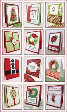 CHRISTMAS CARDS... - Stampin' Up! Demonstrator - Linda Aarhus - Simple to Sublime!