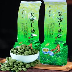 #breakfast #morning Famous Health Care Tea Taiwan Dong ding Chinese Ginseng 250g  heath care  loose weight Oolong   Tea