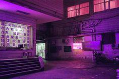 Nighttime Photos of Hong Kong & China's Neon-Soaked Back Alleys