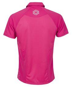 Puma Golf Raglan Tech Polo Shirt Cabaret
