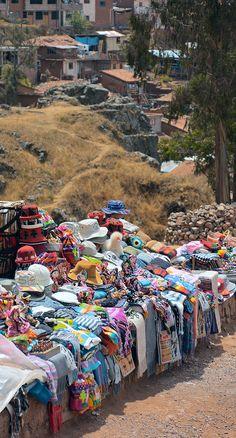 Waiting for Tourists . Cusco Peru