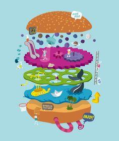 La imaginación a todo color de Héctor Delgado. #Ilustración
