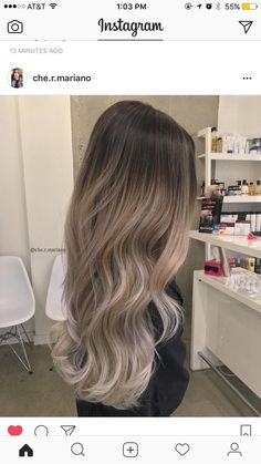 Raven Blue Ombre - 6 Colombre Combinations that Put Pop of Color in Hair Trends - The Trending Hairstyle Ombre Hair Color, Hair Color Balayage, Hair Highlights, Blonde Balayage, Balayage Asian Hair, Hair Colour, Gorgeous Hair, Beautiful, Hair Looks