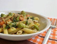 Ricetta pasta lenticchie e verdure, primo piatto vegan Golosi Pasticci