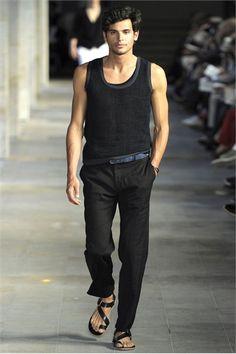 (dress up a tank top) Hermès S/S 2012