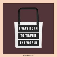 Travel the world with our The MissAdventure travel products!