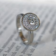 custom diamond ring J ALBRECHT DESIGNS