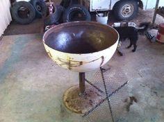 fire pit diy barrel - Google Search