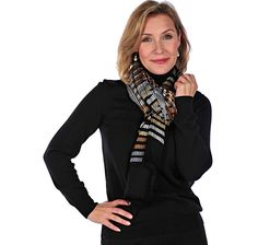Buy Joan Rivers Kaleidoscope of Colour Scarf, Joan Rivers and Scarves & Wraps from The Shopping Channel, Canada's home shopping network - Online Shopping for Canadians