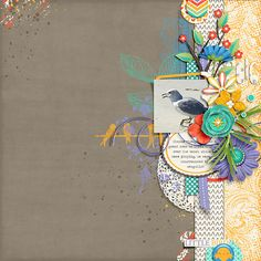 layout created with Little Bird by River Rose Designs
