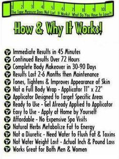 I'm asked everyday How and Why does ItWorks.... Message me if you have any questions or go online and order https://wrappingskinny.myitworks.com/