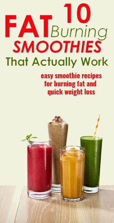 6 fat burning breakfast smoothies for weight loss weight loss tips, healthy recipes for weight Fat Burning Smoothie Recipes, Fat Burning Detox Drinks, Easy Smoothie Recipes, Easy Smoothies, Fat Burning Foods, Breakfast Smoothies, Fruit Smoothies, Drink Recipes, Healthy Recipes